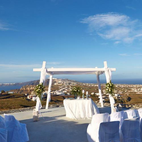 Wedding Venue in Santorini