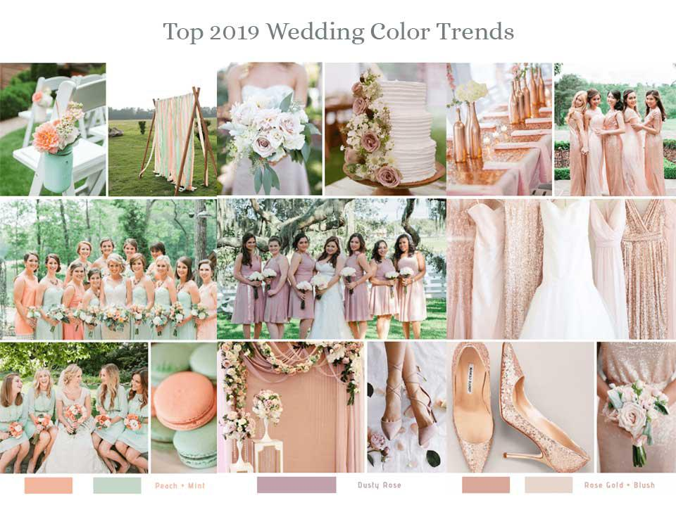 6c19181967 Top 8 Spring Wedding Color Palettes for 2019 - Santorini Wedding ...