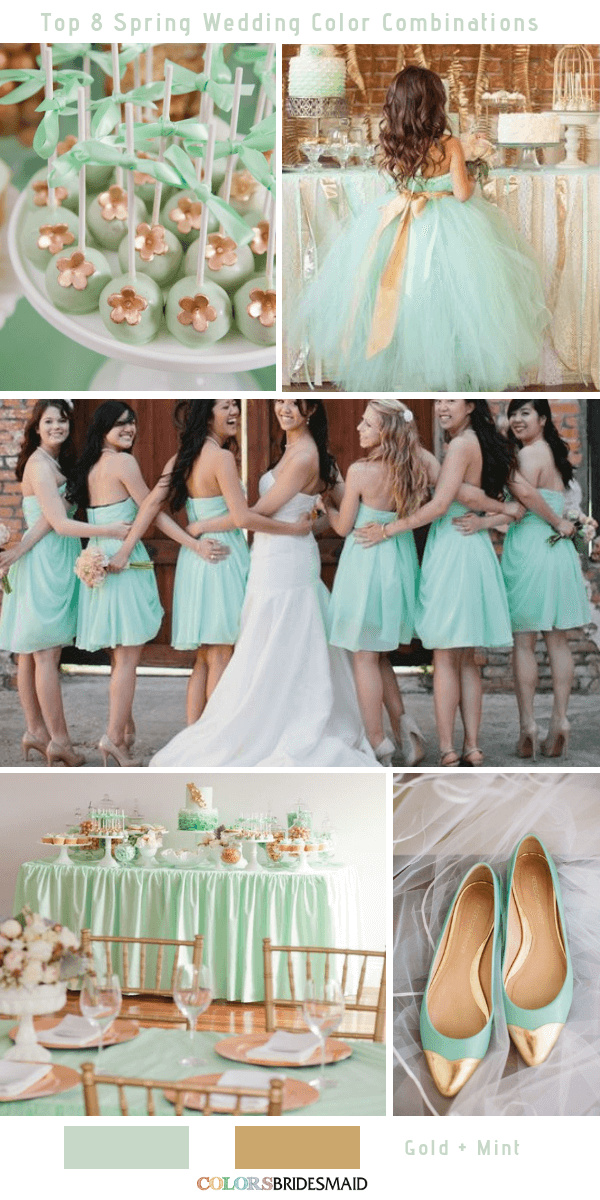 Top 8 Spring Wedding Color Palettes For 2019 Wedding Planner